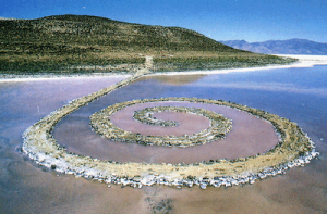 Spiral Jetty de Robert Smith